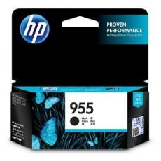 HP 955 Genuine Black Standard Inkjet Cartridge L0S60AA - 1,000 Pages