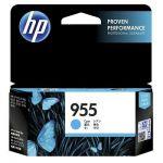 HP 955 Genuine Cyan Standard Inkjet Cartridge L0S51AA - 700 Pages