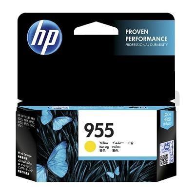 HP 955 Genuine Yellow Standard Inkjet Cartridge L0S57AA - 700 Pages