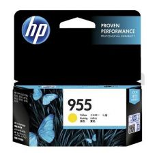 HP 955 Genuine Yellow Standard Inkjet Cartridge L0S57AA - 700 Pages