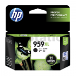 HP 959XL Genuine Black Extra High Yield Inkjet Cartridge L0R42AA -  3,000 Pages