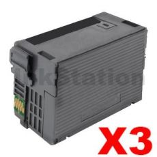 3 x Epson 254XL Compatible Black Extra High Yield Ink Cartridge - 2,200 pages [C13T254192]