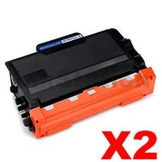 2 x Brother TN-3440 Compatible Toner High Yield - 8,000 pages