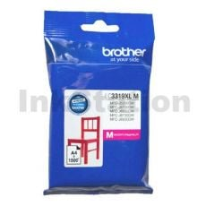 Genuine Brother LC-3319XLM High Yield Magenta Ink Cartridge - 1,500 pages