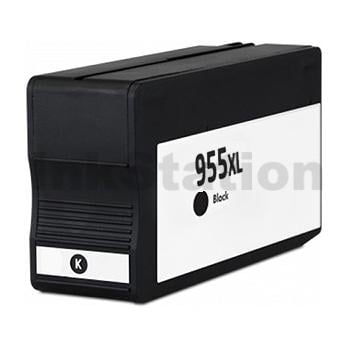 HP 955XL Compatible Black High Yield Inkjet Cartridge L0S72AA - 2,000 Pages