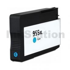 HP 955XL Compatible Cyan High Yield Inkjet Cartridge L0S63AA - 1,600 Pages